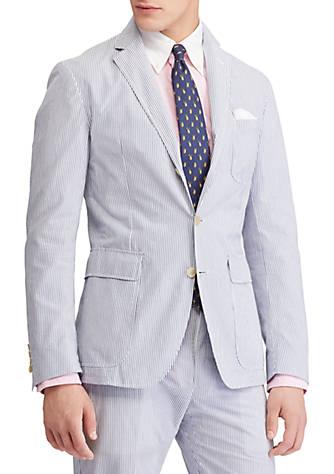 Sast Sale Online Comfortable Online Polo Ralph Lauren Collins Seersucker Suit Jacket 295gYff9Jr