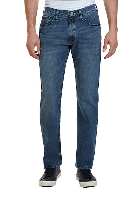 Big & Tall Anchor Denim Relaxed Medium Wash Jeans
