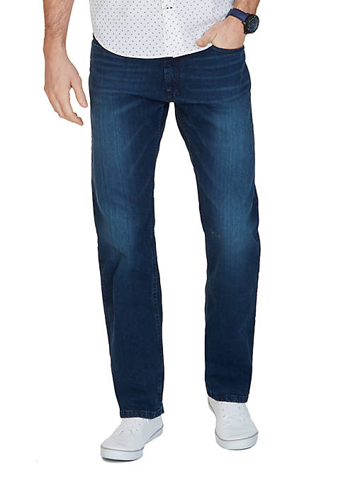 Big & Tall Anchor Denim Relaxed Dark Wash Jeans