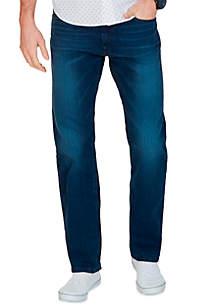 Relaxed Fit Medium Indigo Wash Jean