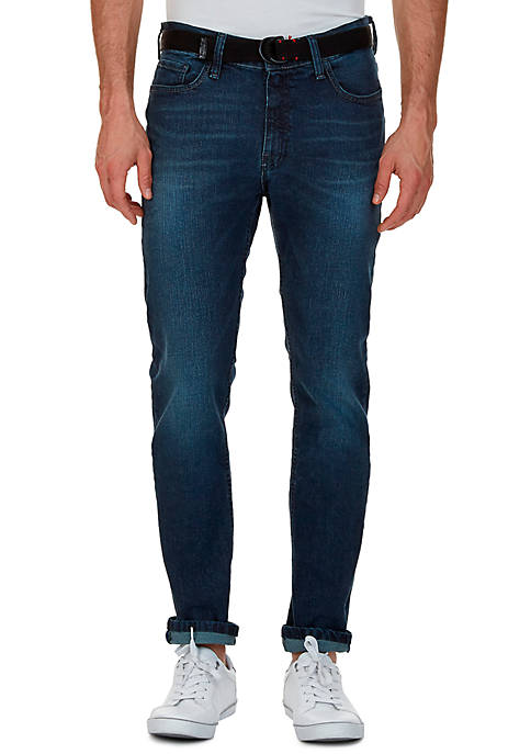 Nautica Slim Fit Medium Smoky Blue Wash Jean