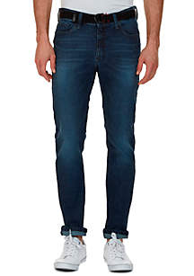 Slim Fit Medium Smoky Blue Wash Jean