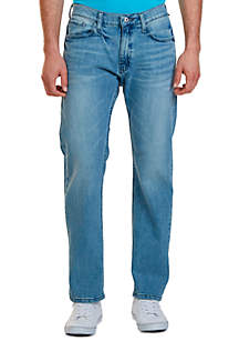 Relaxed Fit Light Wash Jean