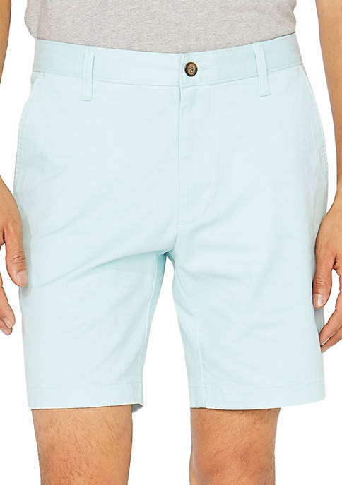8.5 Inch Classic Fit Deck Shorts with Stretch