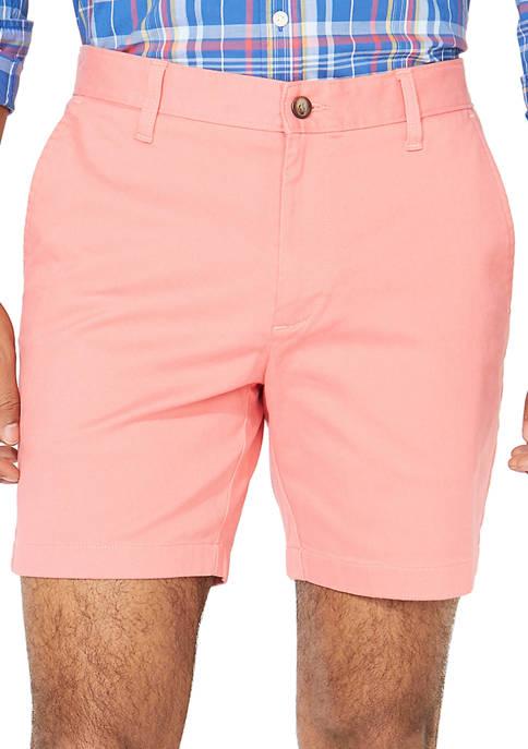 Nautica 6 Inch Classic Fit Deck Shorts