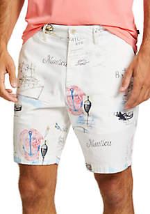 Nautica Artist Series Classic Fit Deck Shorts