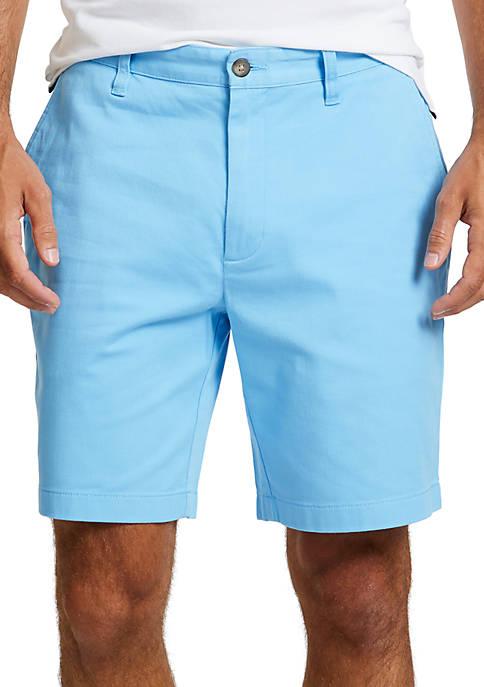 Nautica 8.5 in Classic Fit Stretch Deck Shorts