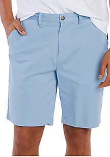 Nautica 10 in Classic Fit Stretch Deck Shorts