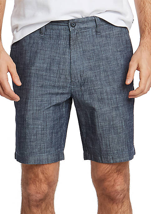 Nautica 8.5 in Chambray Classic Fit Deck Shorts