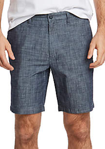 Nautica Big & Tall 8.5 in Chambray Classic Fit Deck Shorts