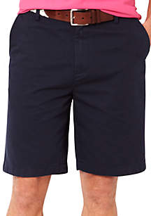 Big & Tall Flat Front Chino Shorts