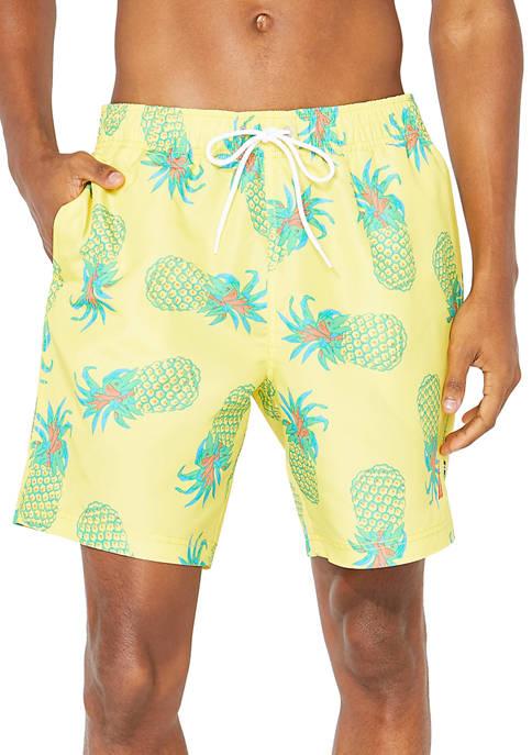 Nautica Big & Tall 8 Inch Tropical Pineapple