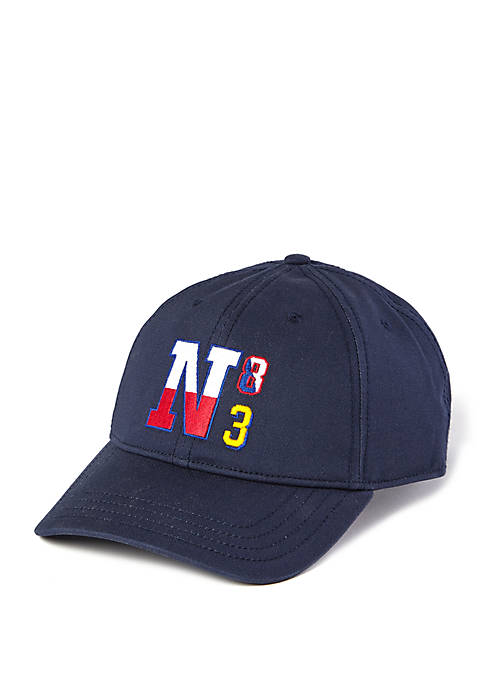 Nautica Color Block Logo Hat