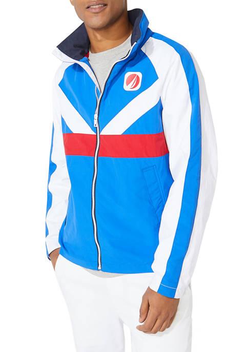 Nautica Lightweight Print Jacket