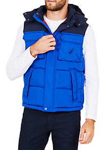 Hooded Explorer Down Vest