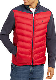 Quilted Hybrid Jacket