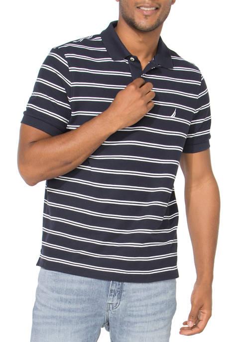 FCA Stripe Deck Polo Shirt