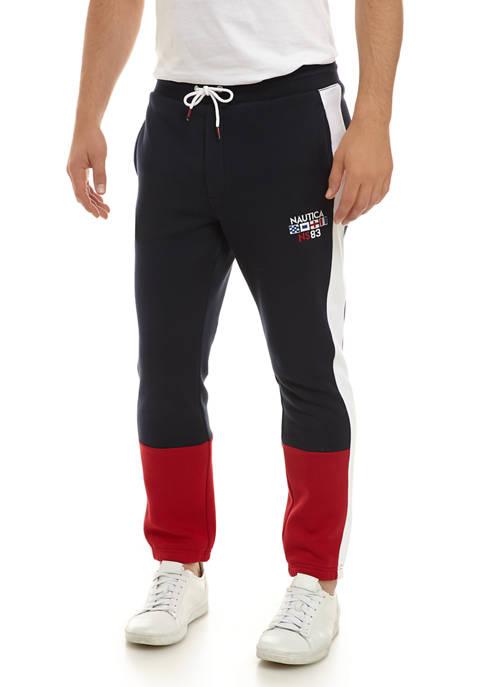 Nautica Color Block Track Pants