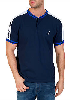 Nautica Classic Fit Heritage Henley Shirt