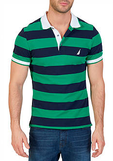 Nautica Classic Fit Heritage Striped Polo Shirt