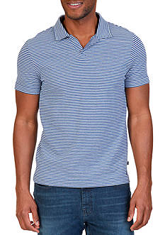 Nautica Classic Fit Striped Polo Shirt