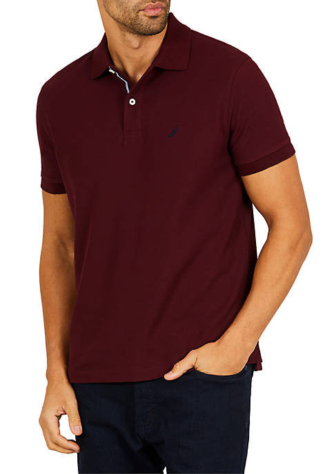 Nautica Classic Fit Moisture Wicking Polo Shirt