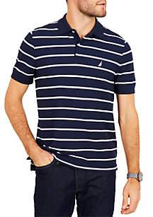 Nautica Classic Fit Performance Striped Polo Shirt