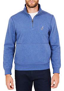 Fleece Basic Half-Zip Pullover