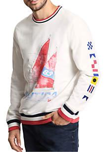 Artist Series Long Sleeve Crew Neck Shirt