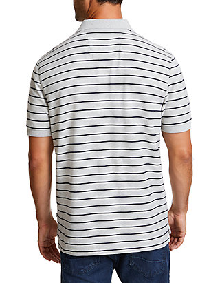 6df58ac5 ... Nautica Striped Classic Fit Deck Polo Shirt ...