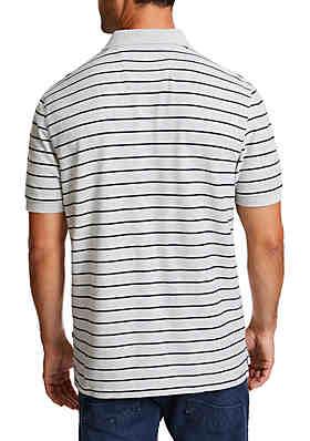 25dab3bb ... Nautica Striped Classic Fit Deck Polo Shirt