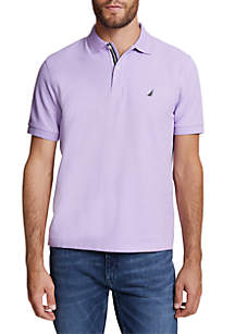 Nautica Solid Classic Fit Deck Polo Shirt