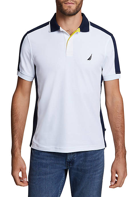Side Panel Classic Fit Performance Polo