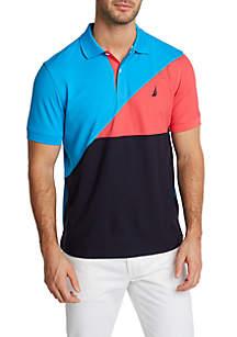 Nautica Color Block Navtech Classic Fit Polo