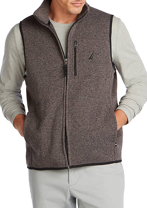 Nautica Mens Classic Fit Fleece Vest