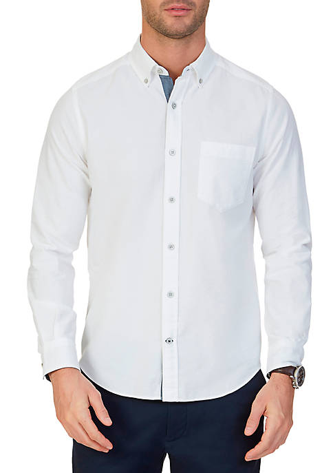 Nautica Big & Tall Stretch Oxford Shirt
