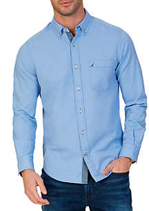 Big & Tall Stretch Oxford Shirt