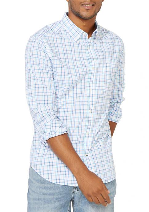 Big & Tall Casual Plaid Button Down Shirt