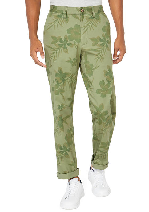 Classic Fit Printed Deck Pants