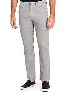 Straight Fit Corduroy 5-Pocket Pants