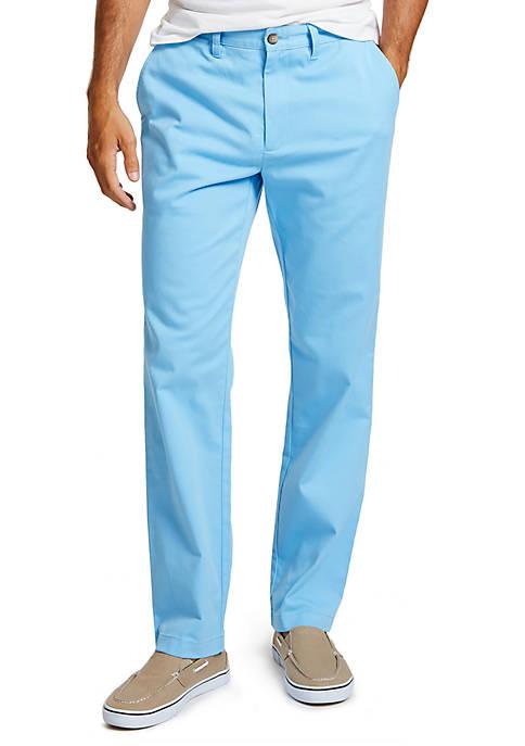 Flat Front Classic Fit Deck Pants