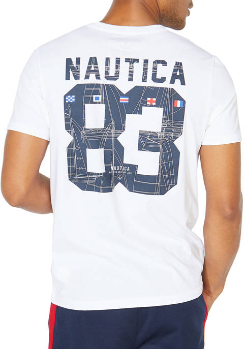 Nautica Big & Tall Big 83 Graphic T-Shirt
