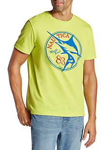 d9971e8d ... Nautica Big & Tall Myrtle Beach Fish Tee