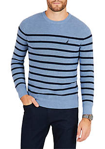 Navtech Breton Stripe Crewneck Sweater
