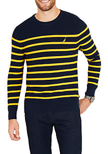 Navtech Breton Stripe Crewneck Sweater