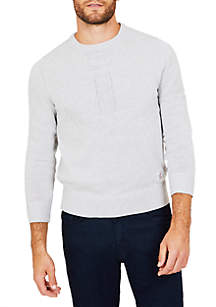 Nautica Twisted Anchor Motif Sweater