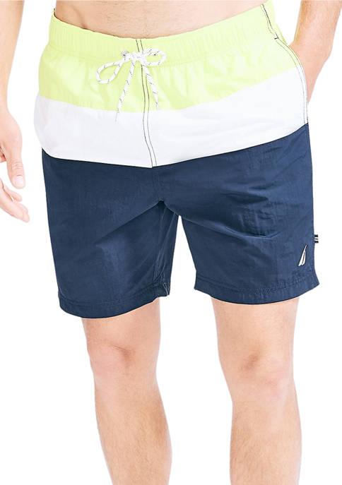 Nautica Tri-Block Swim Shorts