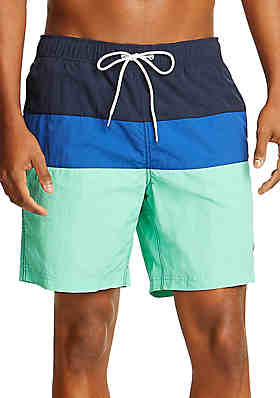 f02d03fddd43b Nautica Colorblock Swim Shorts ...