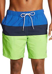 0fc226cfa5c6e Ocean & Coast® Printed Swim Trunks · Nautica Colorblock Swim Shorts