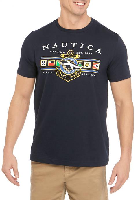 Sailing Logo Short Sleeve Graphic T-Shirt